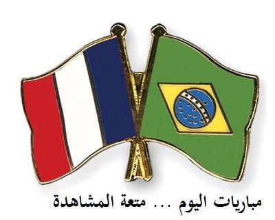 مباراة فرنسا والبرازيل