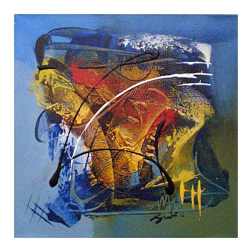 abstract artwork paintings. Abstract Oil Painting