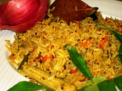 indian fried rice is a popular indian dish often served with tandoori ...