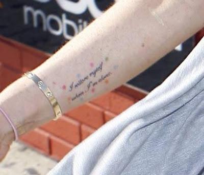 marilyn monroe tattoos. actress Marilyn Monroe a