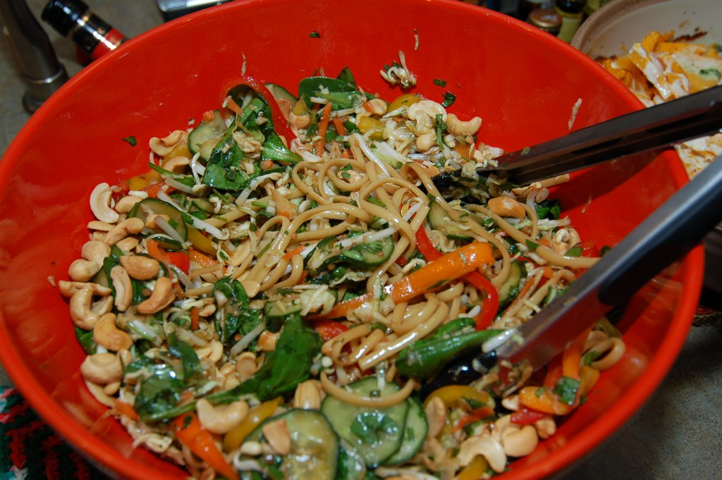 Sunshine and Jellybeans: Asian Noodle Salad (adapted from the Pioneer ...