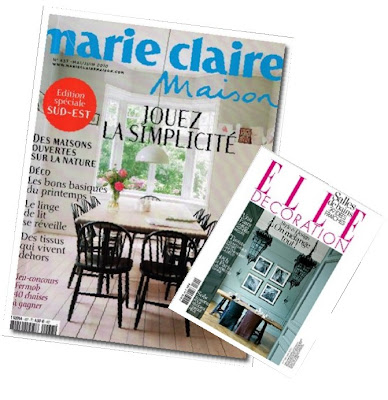 marie claire maison and elle decoration