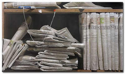 newsprint by steve mills