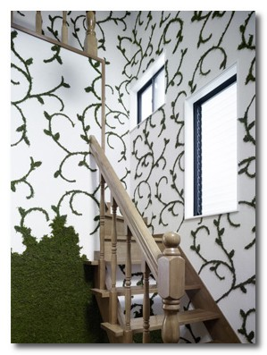 nendo's moss house