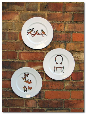 silhouette plates by andrew tanner