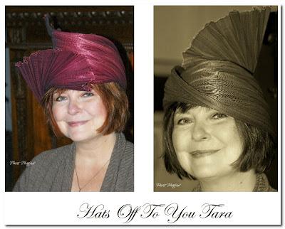 tara bradford and her hat
