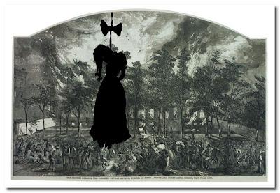 demons yarns and tales kara walker tapestry
