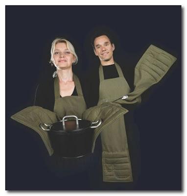 oven glove apron BijzonderMOOI