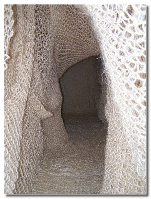 knitted cave