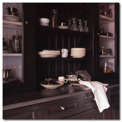 black kitchen baden concepts