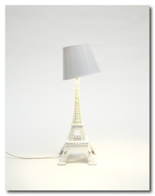 eiffel tower lamp by ascete