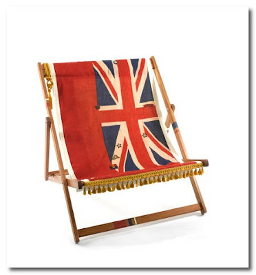 double deckchair by lost and found at pedlars
