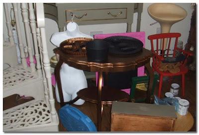 creating ghost furniture