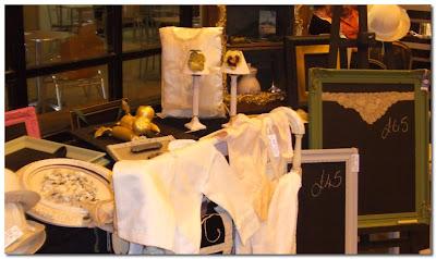 ghost furniture at antiques fair