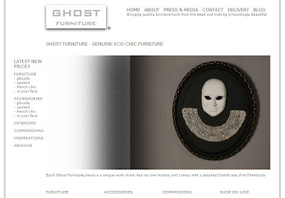 the new ghost furniture website
