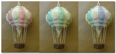 hot air balloon baubles