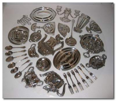 Cornelia Parker thirty pieces of silver