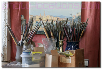 An Artist's Studio In Chelsea