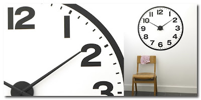 giant clock stickers from brume