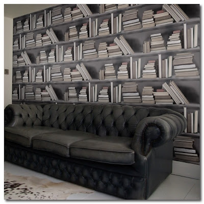 Wallpaper Bookshelf