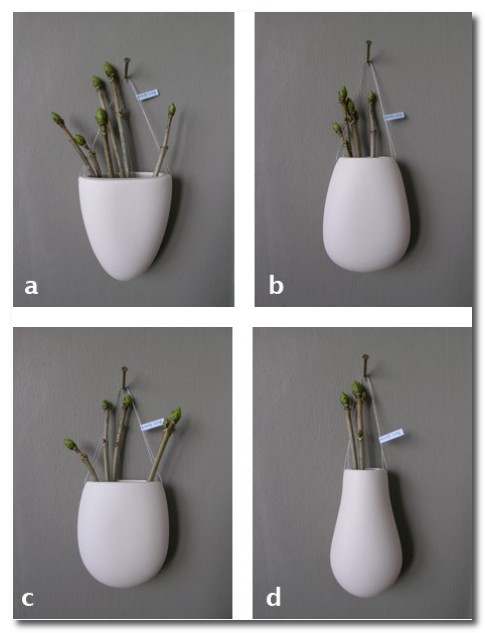 hub interiors porcelain drop vases
