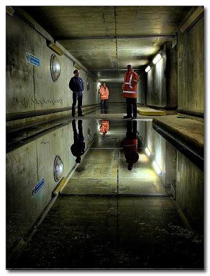 floods under the underground