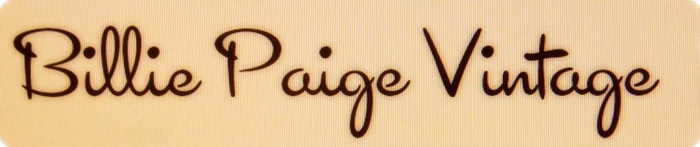 Billie Paige Vintage