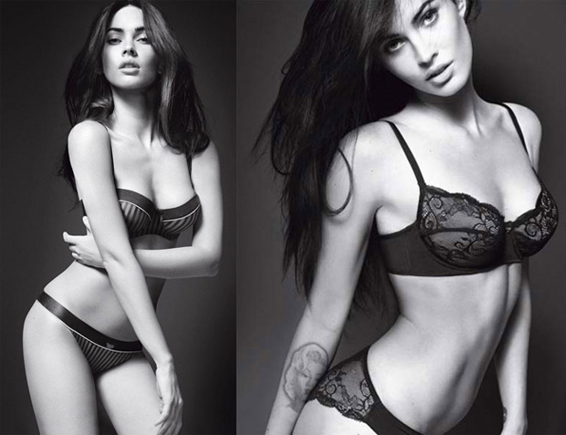 megan fox images 2010. Megan Fox For Armani