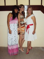 Thaynara, Fernanda e eu