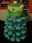 golf topper & cupcakes