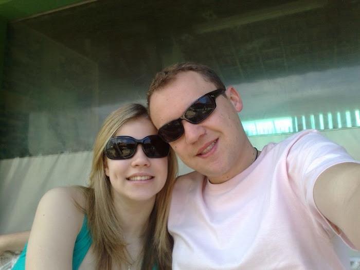 o casal...