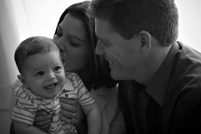 Boulder Family Portraits: Luke Meyers is 7 months family photography babies children infants