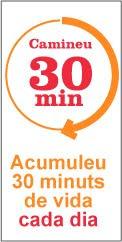 Si no teniu temps, podeu anar sumant minuts actius durant el dia.