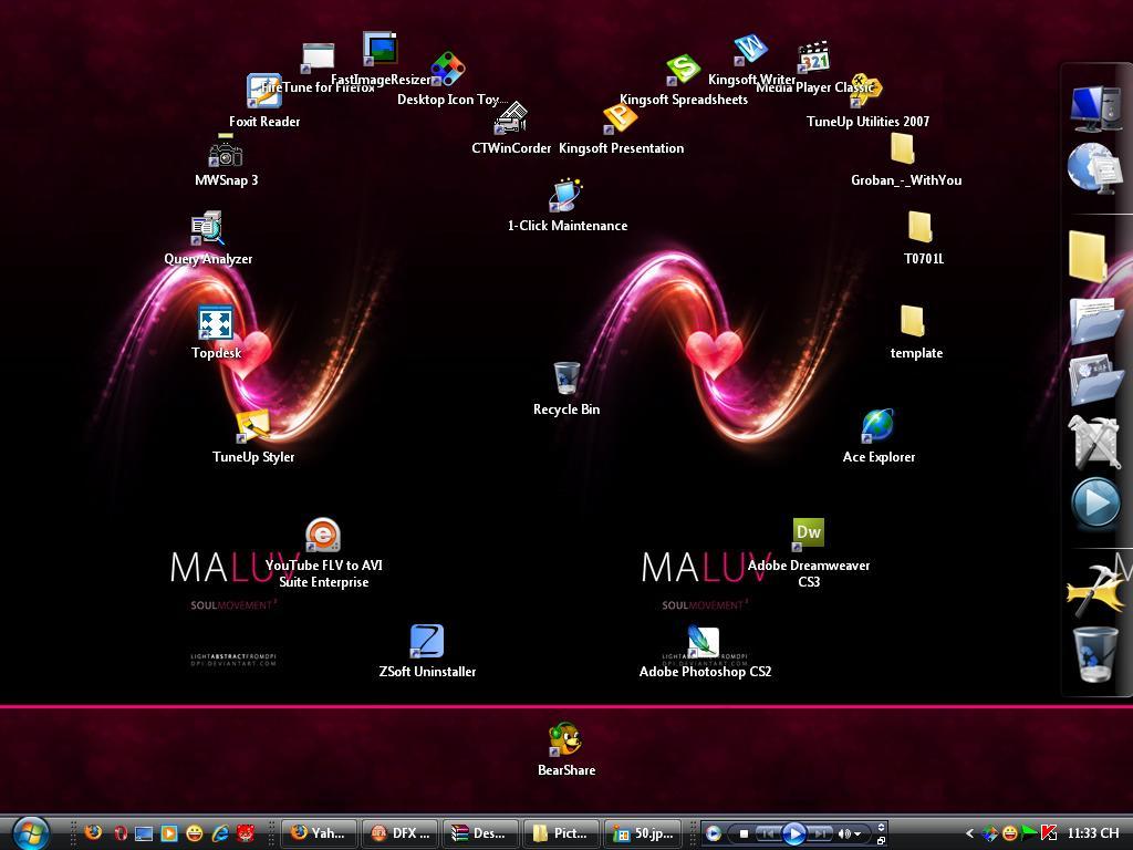 Desktop Icon Toy 4.0 ايقوناتك المكتب