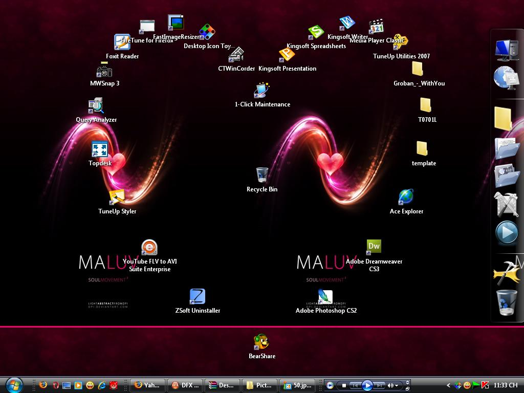 Desktop Icon Toy 4.0 إجعل ايقوناتك ترقص على سطح المكتب