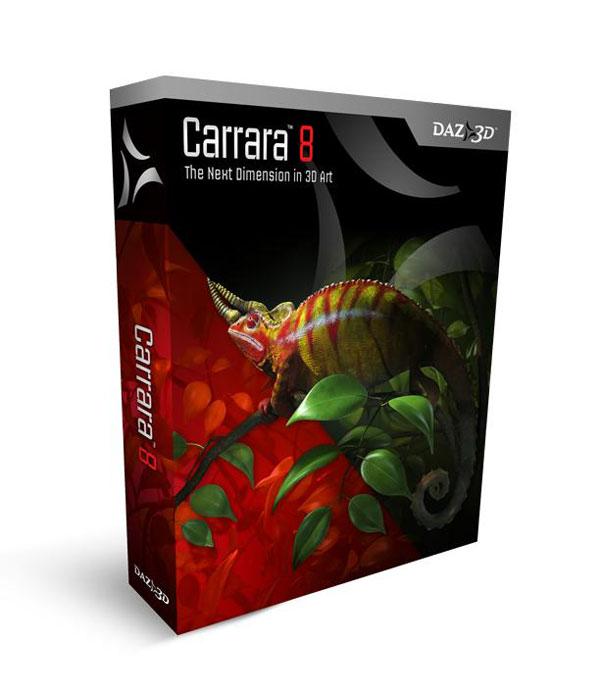 Carrara 8.0 Pro (1 dvd)