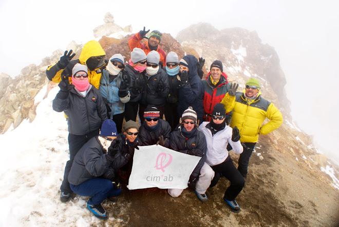 Tercera Cumbre. Iztaccíhuatl. 5,000 mts.