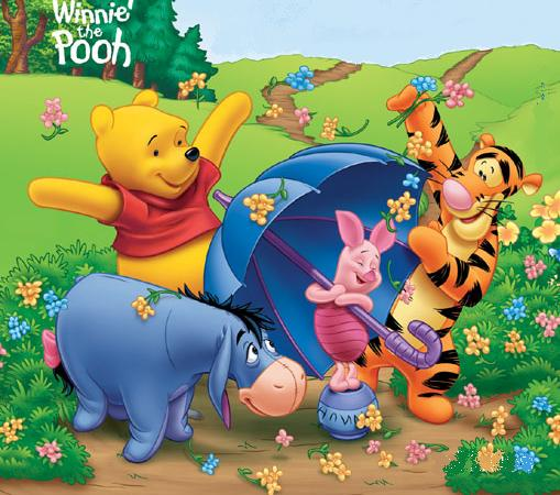 Winnie pooh, tigger, Playhouse, Disney, Channel, Amime, Cartoons