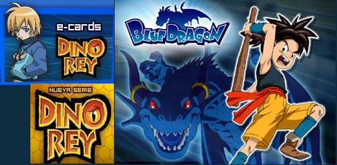 Dino Rey  Blue dragon cartoon network jetix videos imagenes dibujos anime dinosaur king