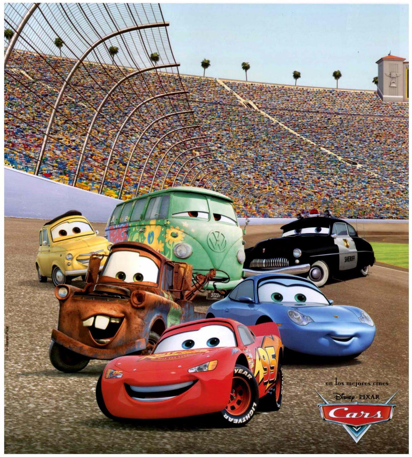 cars rayo mcqueen autos carreras aventuras disney