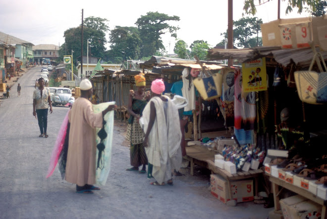 shopping in Kenema
