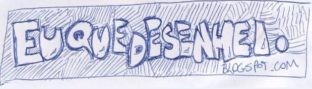 Eu que desenhei!