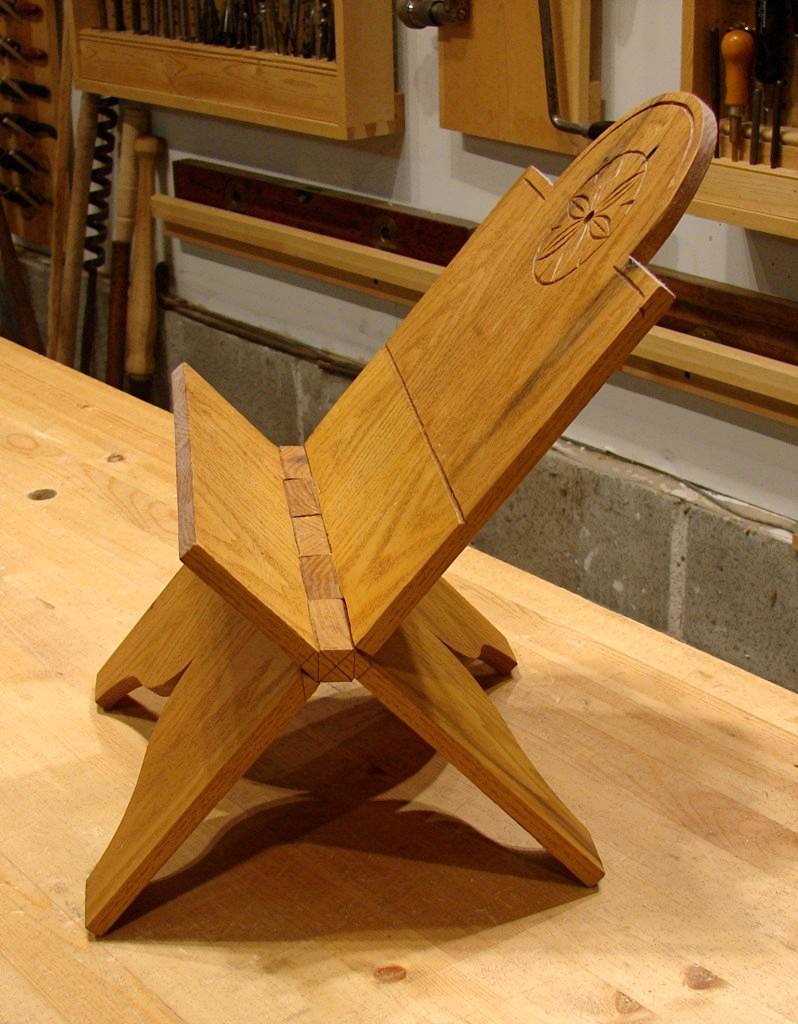 Wooden Bible Stand ~ Dan s shop folding book stand revisited