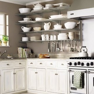 Count It All Joy Kitchen Open Shelving