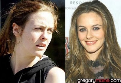 Mujeres famosas sin photoshop