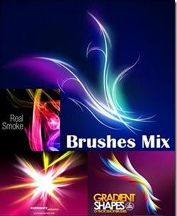 Brushes Mix - Pinceles Photoshop