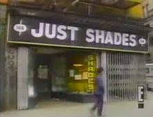 Just Shades featured on David Letterman