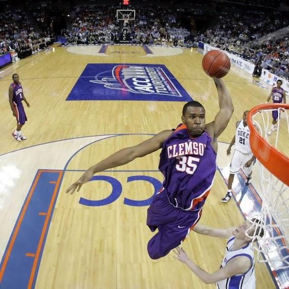 Clemson hoops.net: Clemson Basketball: Trevor Booker Dunk!!!