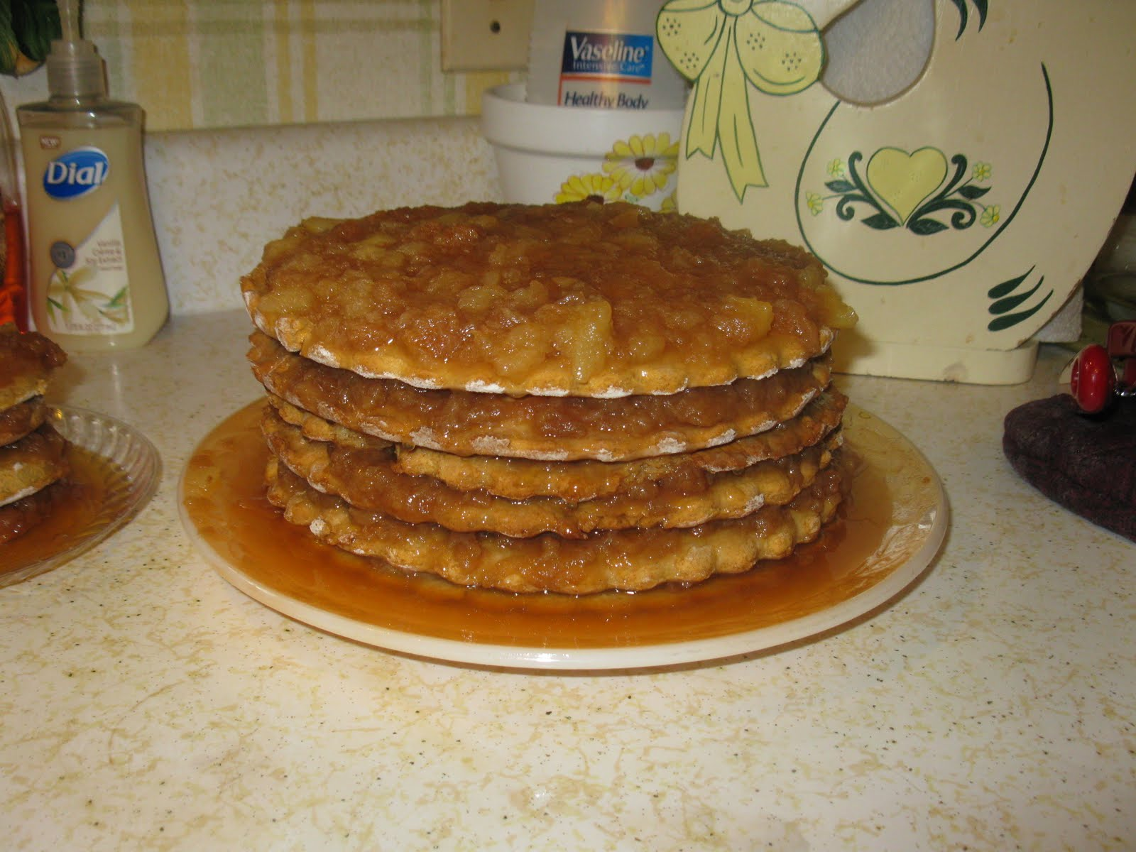 Apple Butter Stack Cake Recipe