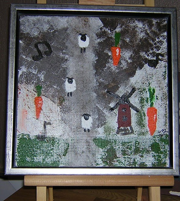 Sheap Carrot 30x30, gåva